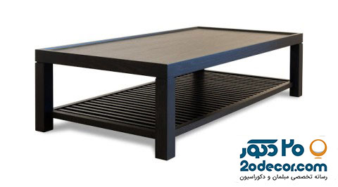میز چای خوری چوبی