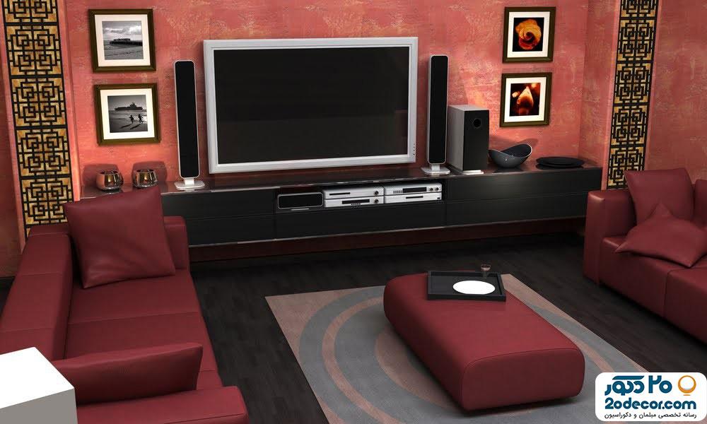 بهترین میز تلویزیون