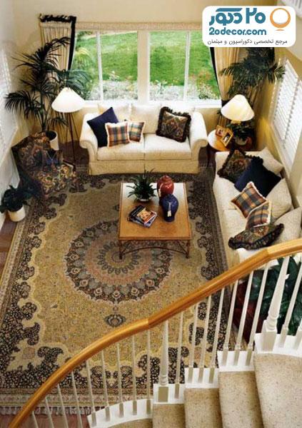 طراحی پذیرایی و اتاق منزل