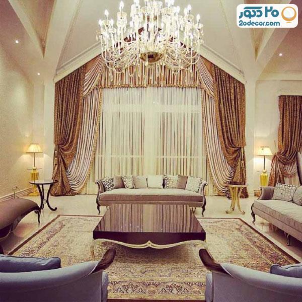 فرش ایرانی در خانه زیبا