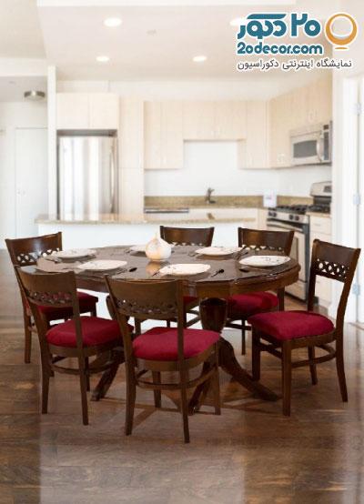 میز غذاخوری با کیفیت