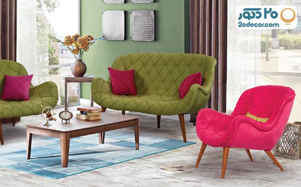 کاناپه با عمق مناسب