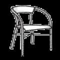 صندلی ویلایی و استخری