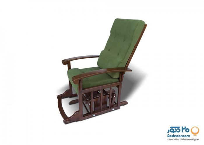 صندلی گهواره ای مکانیکی آمازون چوب