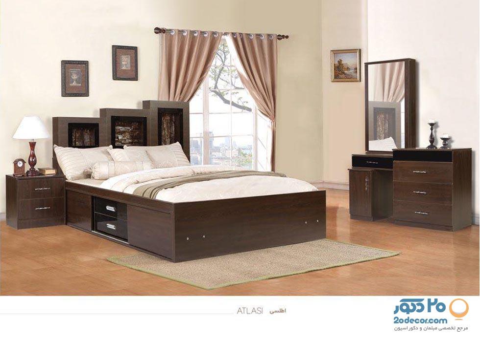 سرویس خواب آرنیکا مدل اطلسی