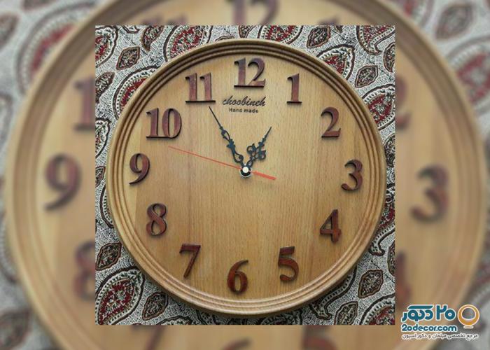 ساعت دیواری آیاز دکور مدل C010