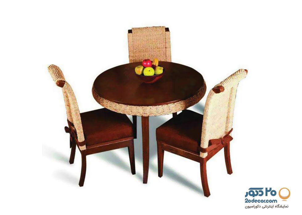 میز ناهار خوری سه نفره مدل ارژن گالری علی