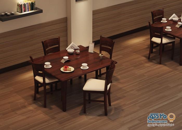 ست ناهارخوری چهار نفره مدل 304 اعتماد پارسا