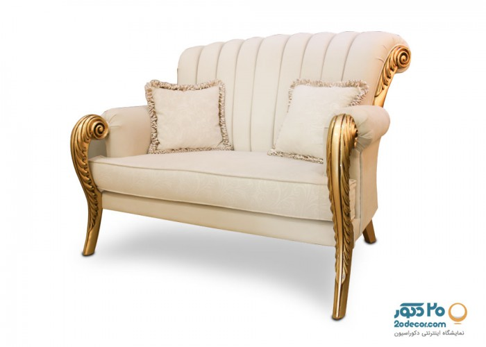 مبل کلاسیک مدل گلدن شرکت لمکو