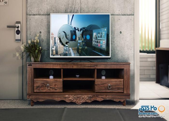 میز تلویزیون کرال استند مدل C-140