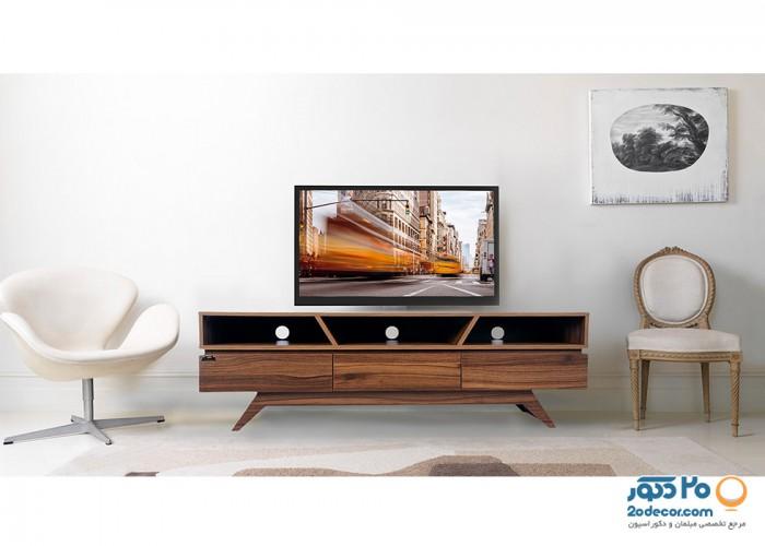 میز تلویزیون کرال استند مدل MW-140/160
