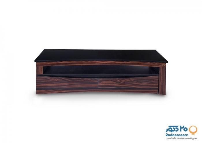 میز تلویزیون کرال استند مدل  Z-120/140/160 GLASS