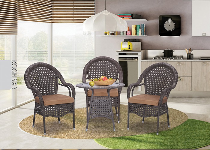 میز و صندلی باغ کوهبر کد 155