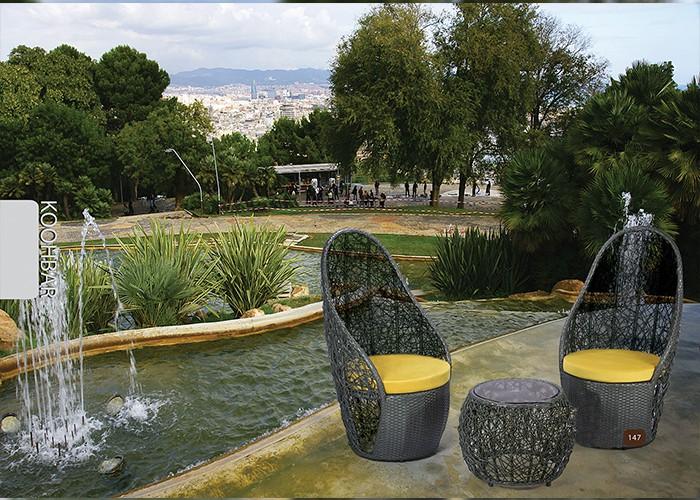 میز و صندلی باغ کوهبر کد 147