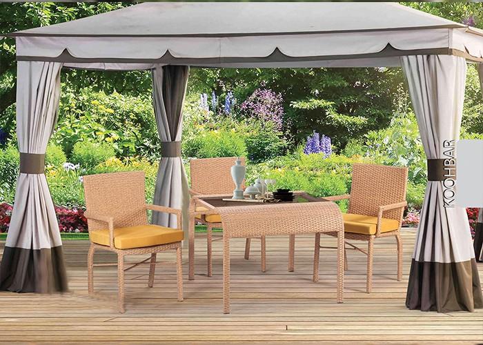 میز و صندلی باغ کوهبر کد 166