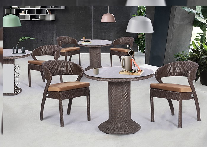 میز و صندلی باغ کوهبر کد 163