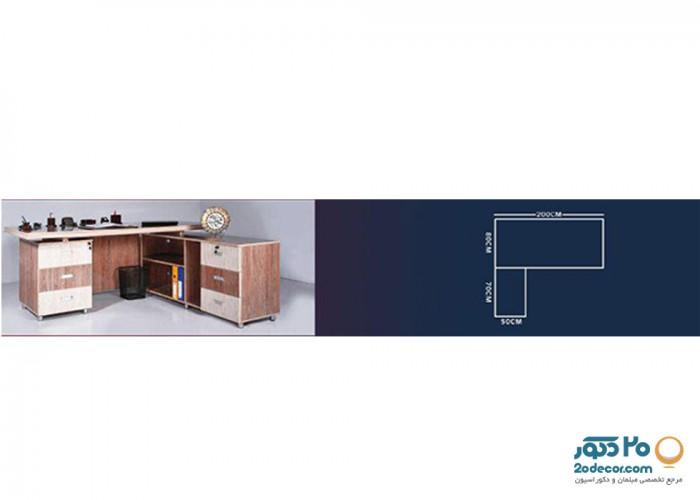 میز مدیریت نیک صنعت مدل N-T16