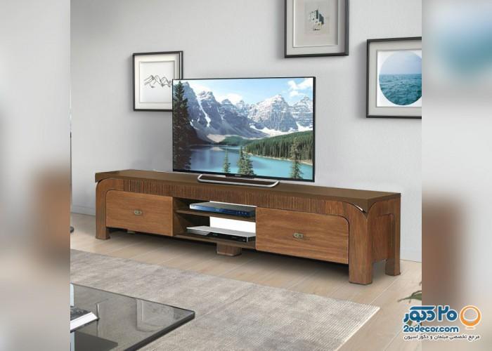 میز تلویزیون پراک مدل کاجو