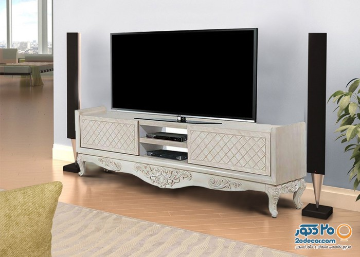 میز تلویزیون پراک مدل یاقوت