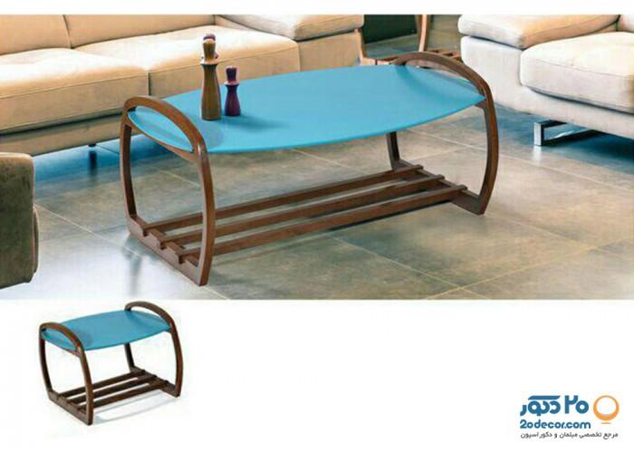 میز جلو مبلی پراک مدل پاگانی