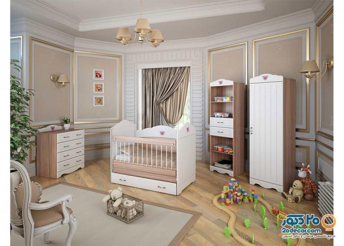 سرویس خواب کودک آوید مدل کلاسیک