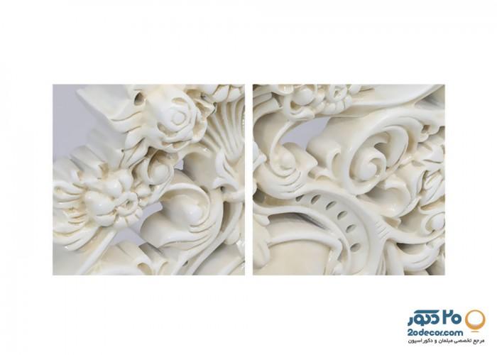 سرویس خواب تمام چوب رومانس مدل ایتالیای سنگین