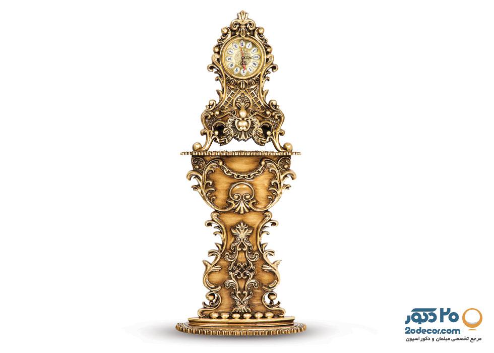 ساعت کنسولی مدل کنسولی ظریف تولیدی قنبری