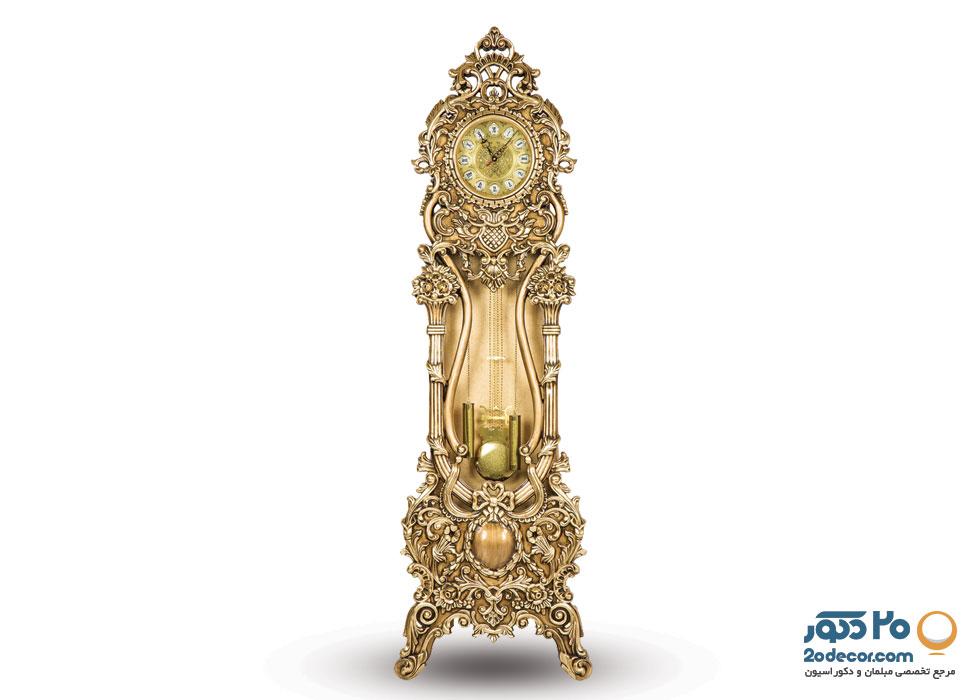 ساعت ایستاده مدل شمعدونی تولیدی قنبری