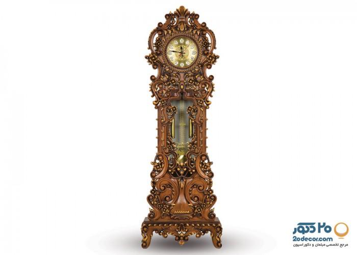 ساعت ایستاده رومانس مدل نیلوفر