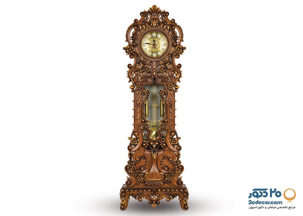 ساعت ایستاده مدل نیلوفرتولیدی قنبری