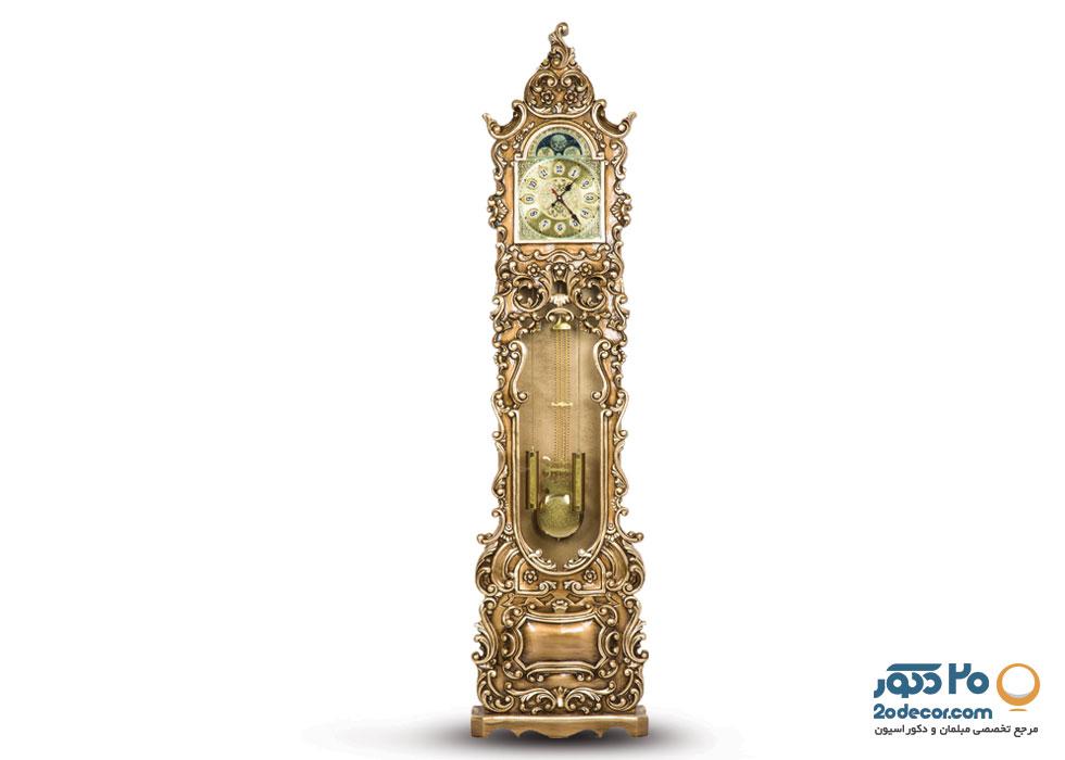 ساعت ایستاده مدل خمره ای تولیدی قنبری