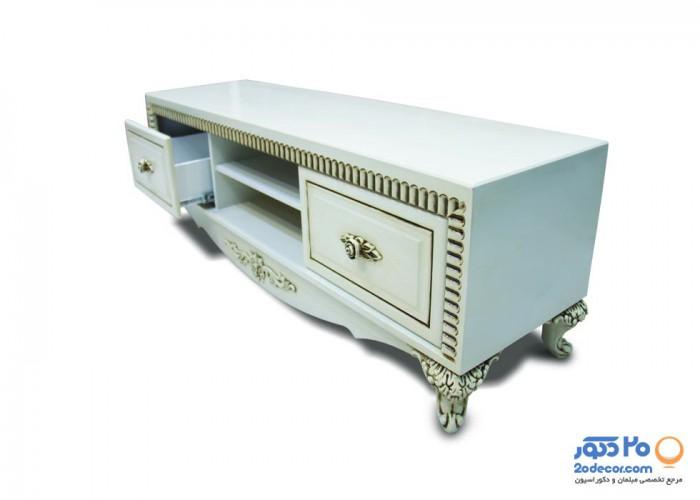 میز ال سی دی کاکتوس مدل لبه تاج دار رنگی