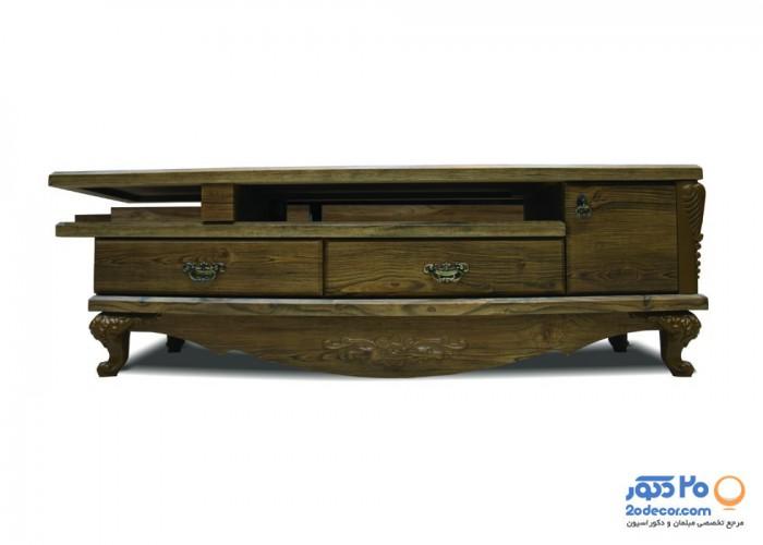 میز ال سی دی کاکتوس مدل 202 وکیوم دو تکه