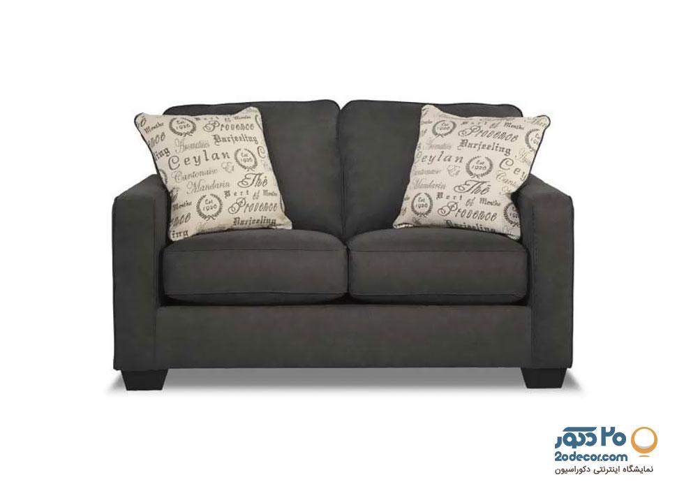 کاناپه راحتی زغالی رنگ کاسپارو مدل آلینا