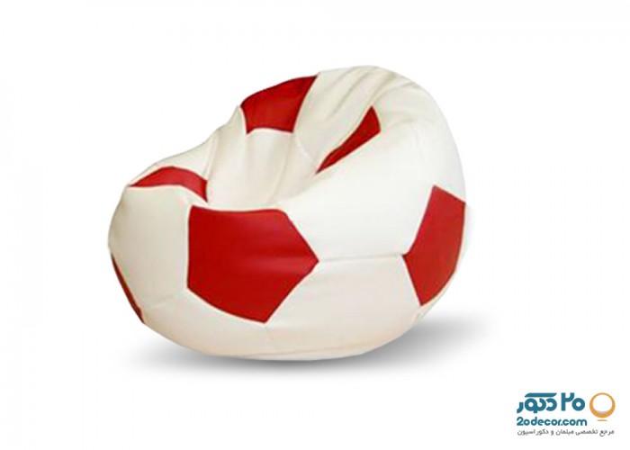 مبل شنی اینتکس مدل دو رنگ طرح فوتبال