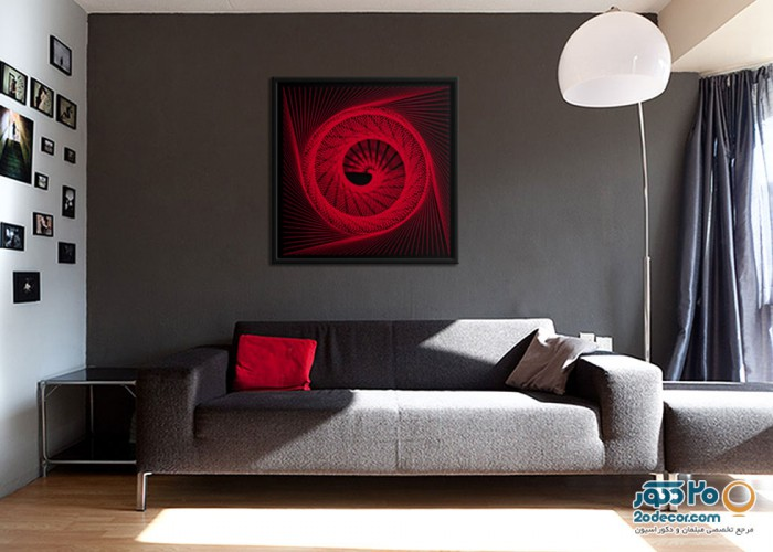 تابلو های انتزاعی گالری جولا مدل Neon