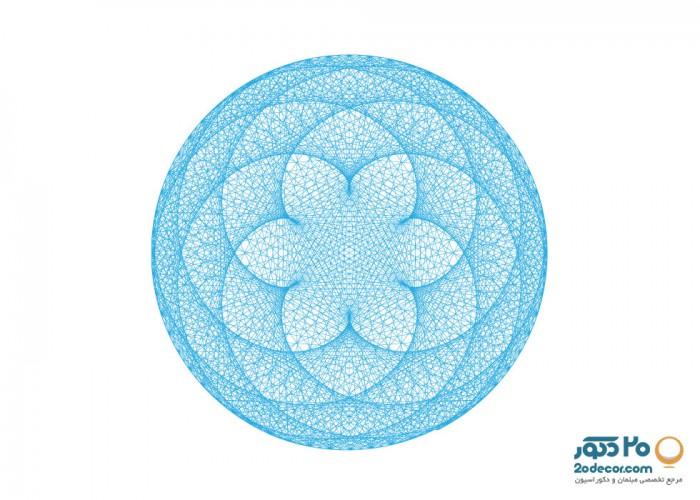 تابلو های انتزاعی گالری جولا مدل Lotus