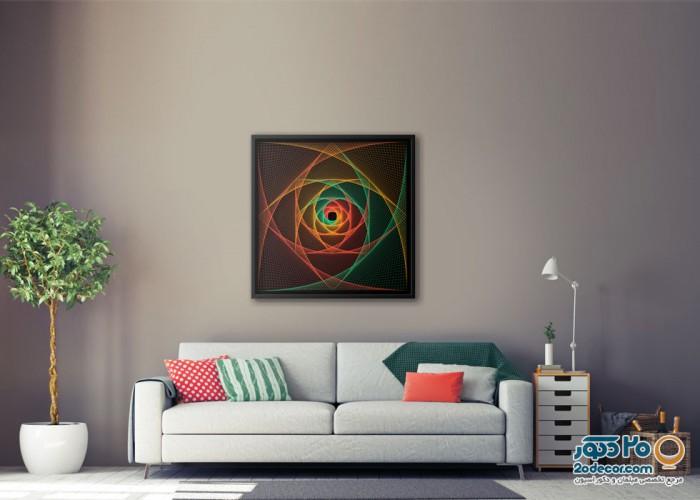 تابلو های انتزاعی گالری جولا مدل Rose