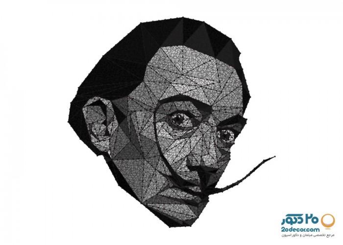 تابلو های انتزاعی گالری جولا مدل Dali