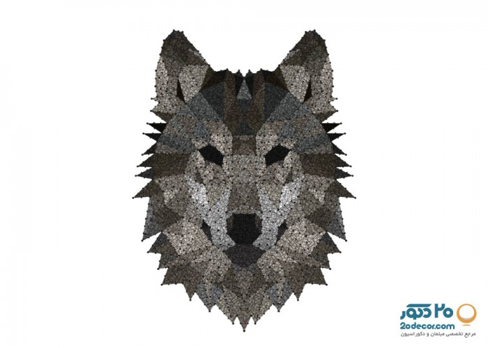 تابلو های انتزاعی گالری جولا مدل Wolf