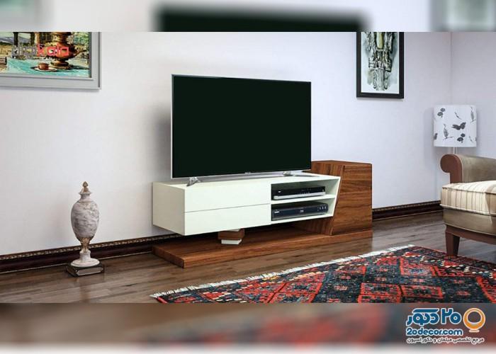 میز تلویزیون کرال استند مدل x2-140 /160