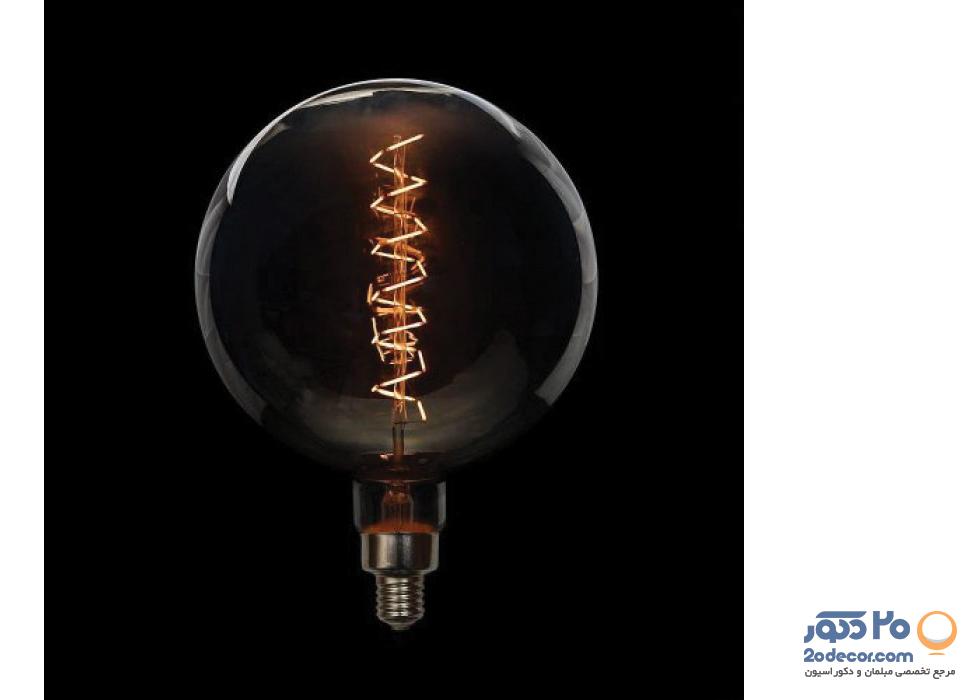 لامپ ادیسون مدل زیگزاگ BLG 300 LIGHT GREY COLOR 10W بالب لاندن