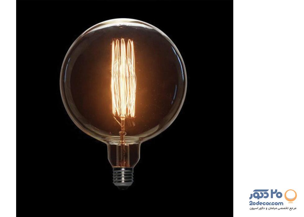 لامپ ادیسون مدل حبابی BLG 150 SIDELONG TEA COLOR بالب لاندن