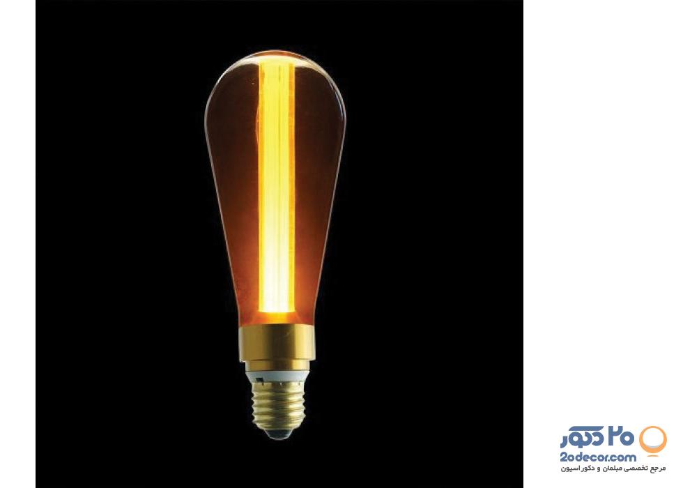 لامپ ادیسون مدل نارنجی PEAR LED 3W بالب لاندن