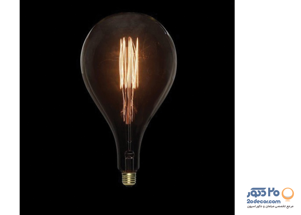 لامپ ادیسون مدل GIANT DROP VERTICAL بالب لاندن