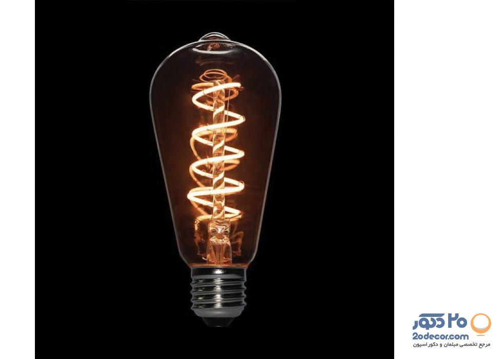 لامپ ادیسون مدل BLST 64 LIGHT GREY.S 3W بالب لاندن