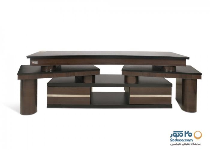 میز ال سی دی کاکتوس مدل چهارتکه ودورو