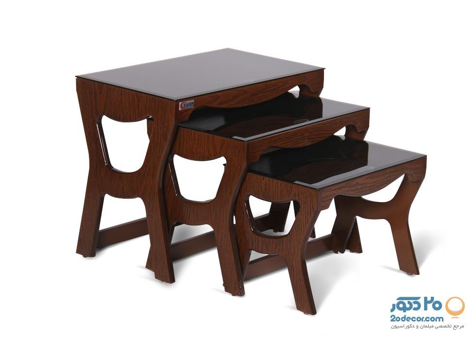 میز عسلی کایزن مدل آنتیک
