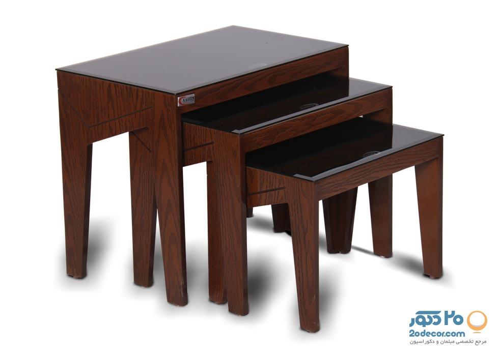 میز عسلی کایزن مدل کلاسیک
