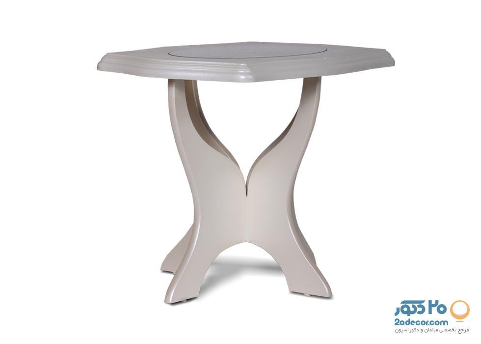 میز عسلی کایزن مدل مرسده